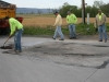 Mifflin County, PA Amish Road Repair