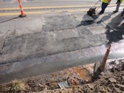 High Performance Road Repair Material
