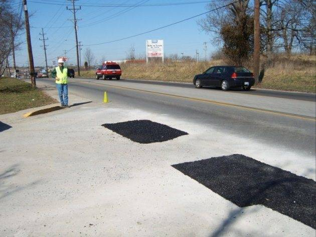 Pothole Patching Repair