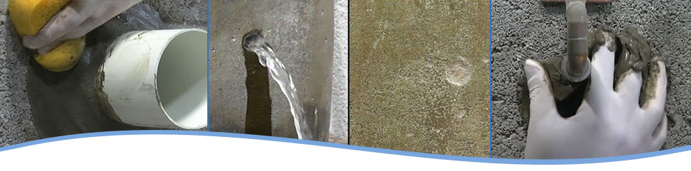 Concrete Water Stopper : Concrete patch mix water stop cement