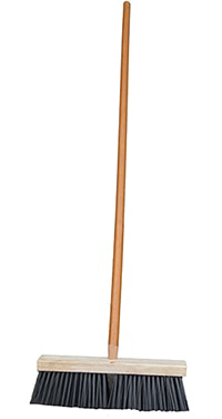 16 Wire Street Broom w Handle