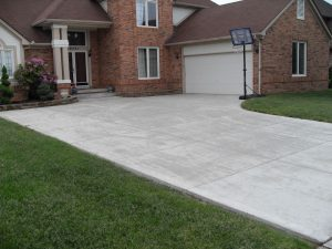 concrete paving materials