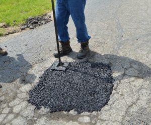 UPM cold mix asphalt patch